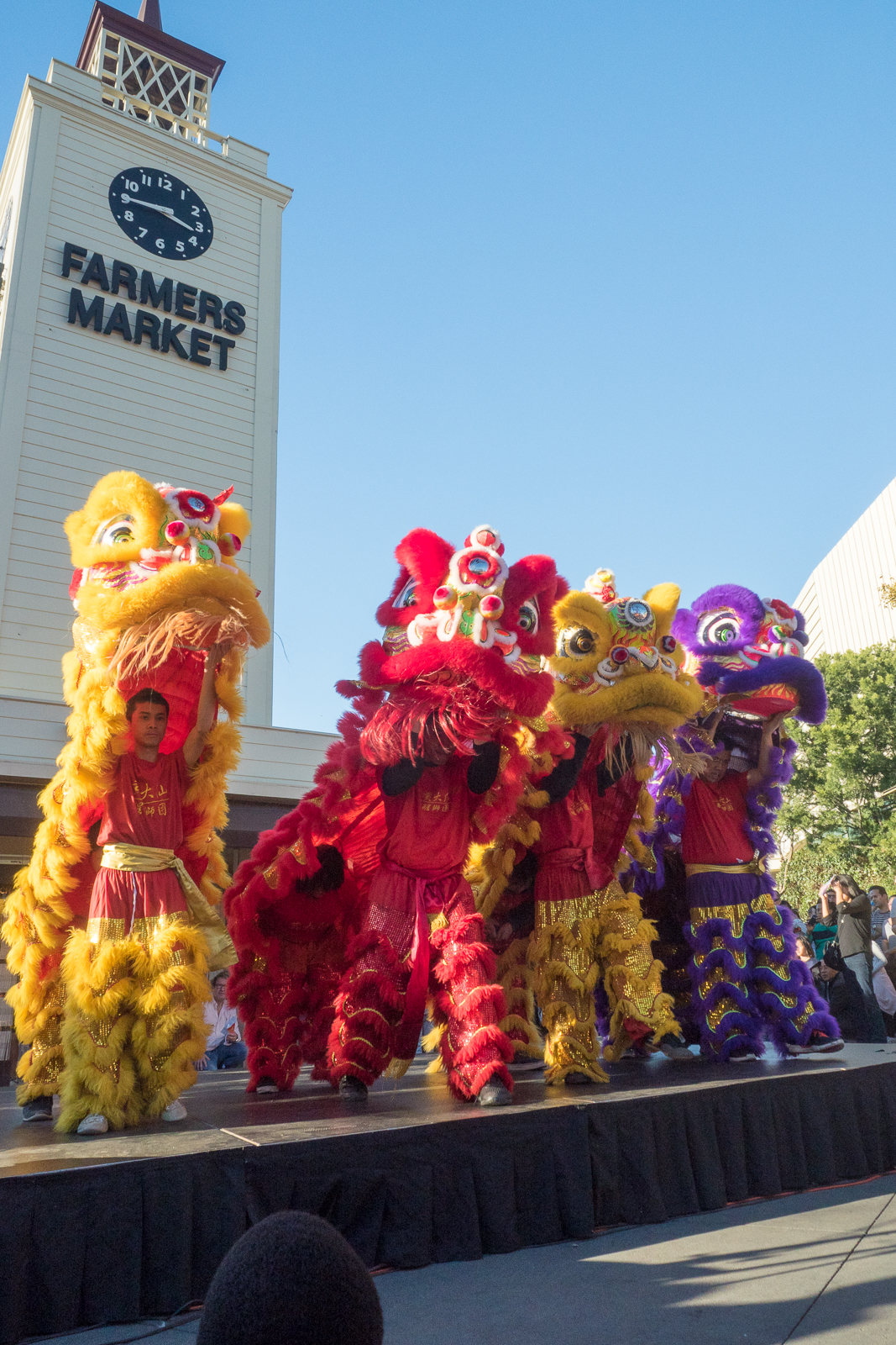 Lunar New Year Celebration at The Original Farmers Market