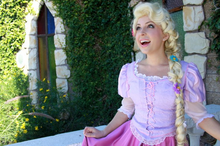 Galentine's Day Party with Rapunzel!