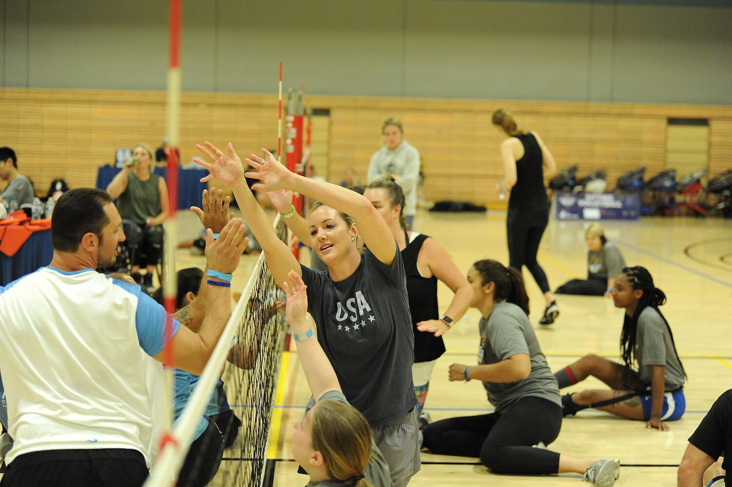 Sitting Volleyball Clinic