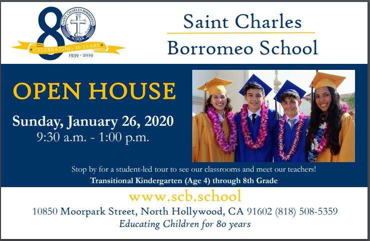 St Charles Borromeo School Open House