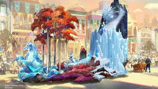 """Disneyland's """"Magic Happens"""" Parade Debut"""