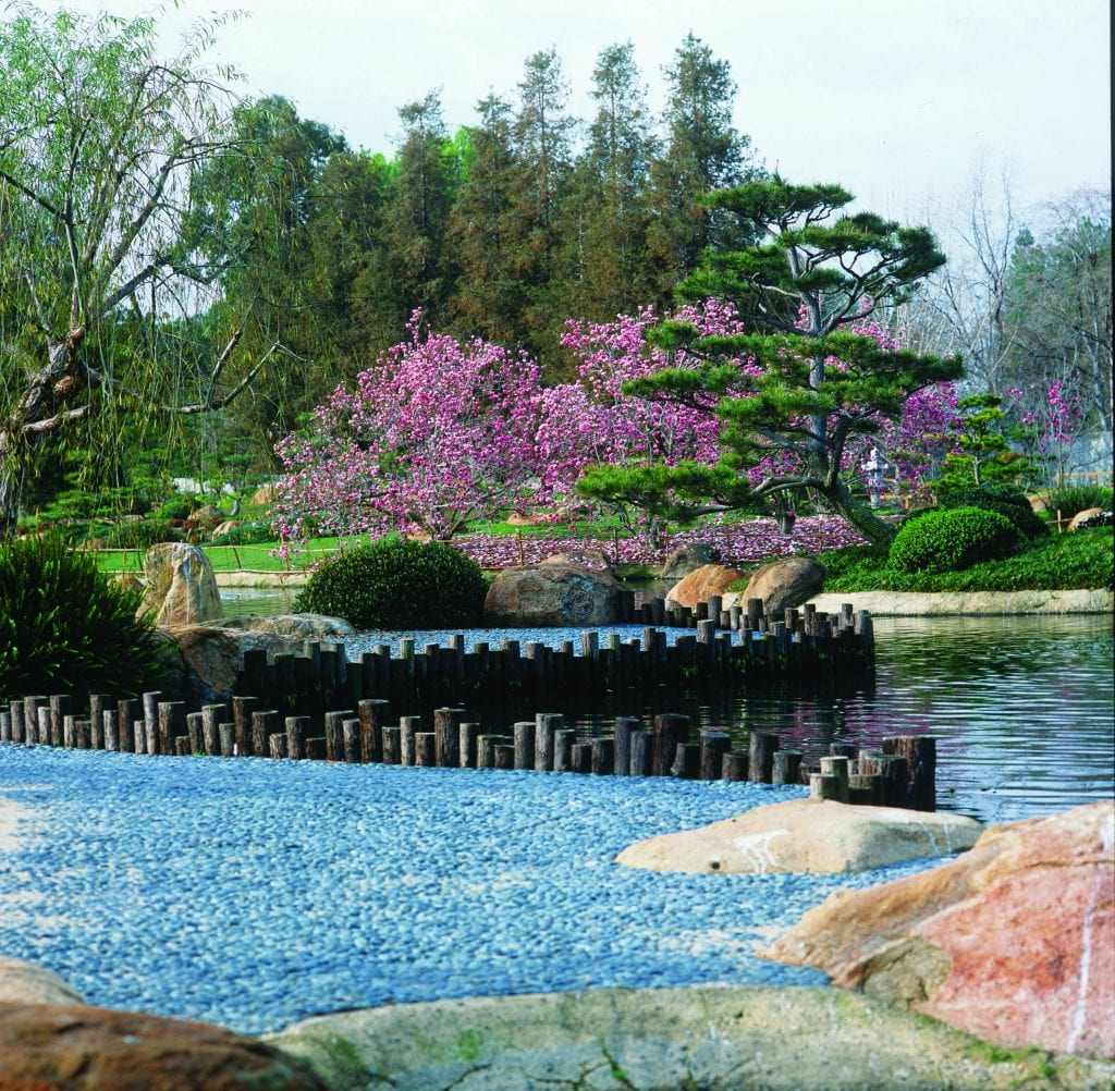 Best L.A. Gardens for Kids: japanese gardens van nuys