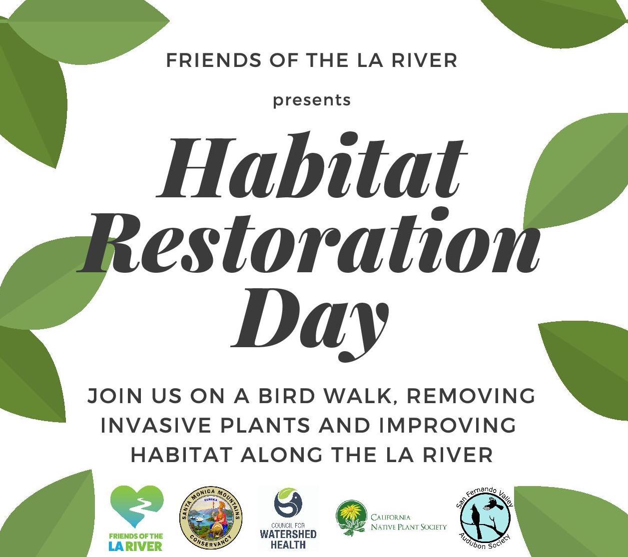 Habitat Restoration Day
