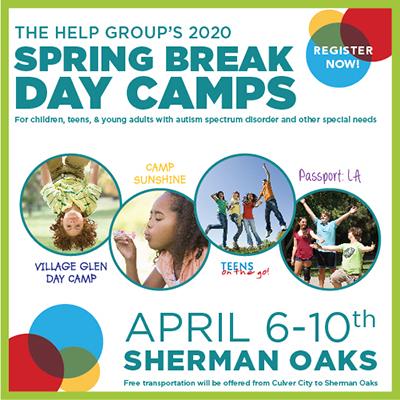 The Help Group's Kids Like Spring Break Camp