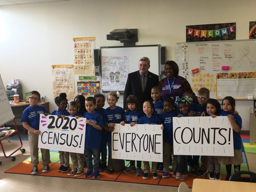 2020 Census classroom photo