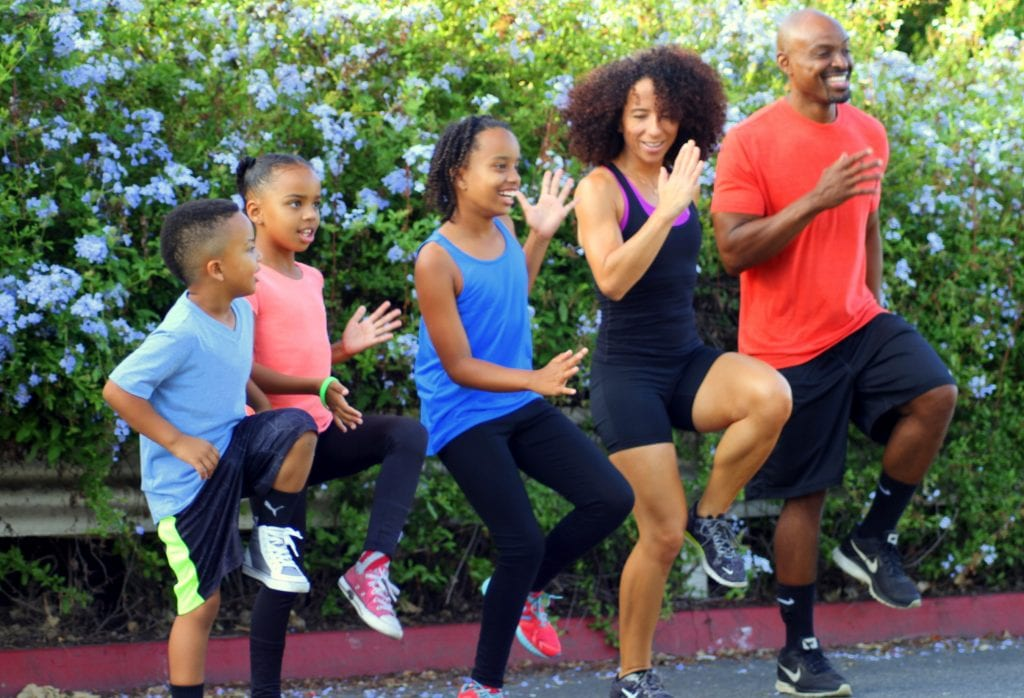 Claudine Cooper offers virtual workouts