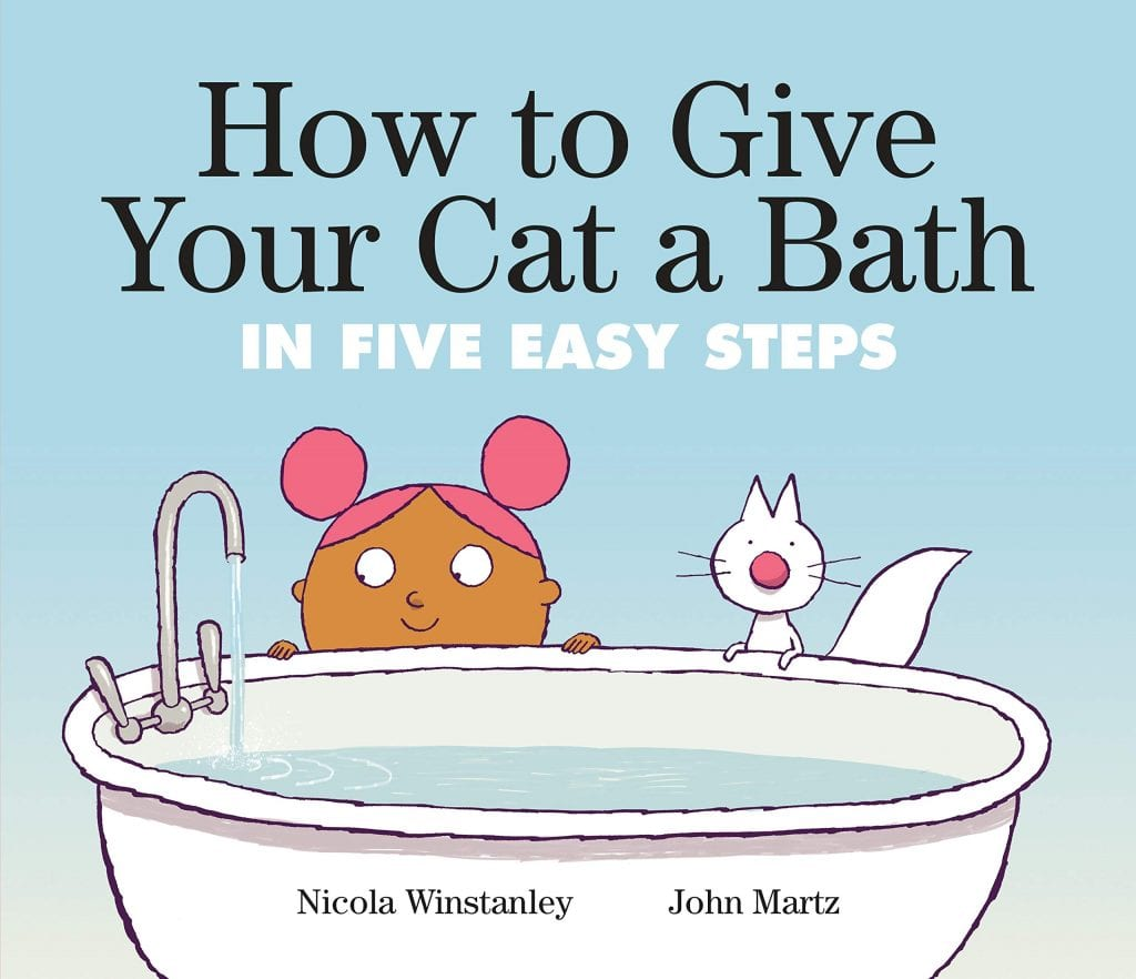 funny picture books How to Give Your Cat a Bath