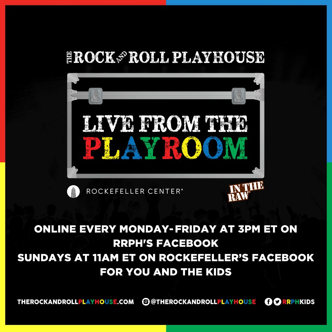 Rock & Roll Playhouse Live from the Playroom