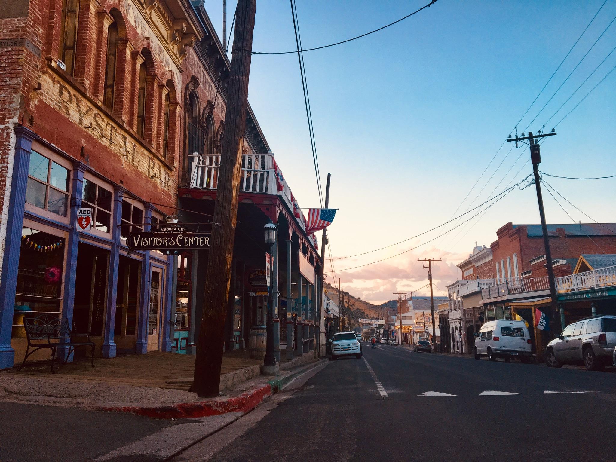 Virtual Tour of Virginia City, Nevada