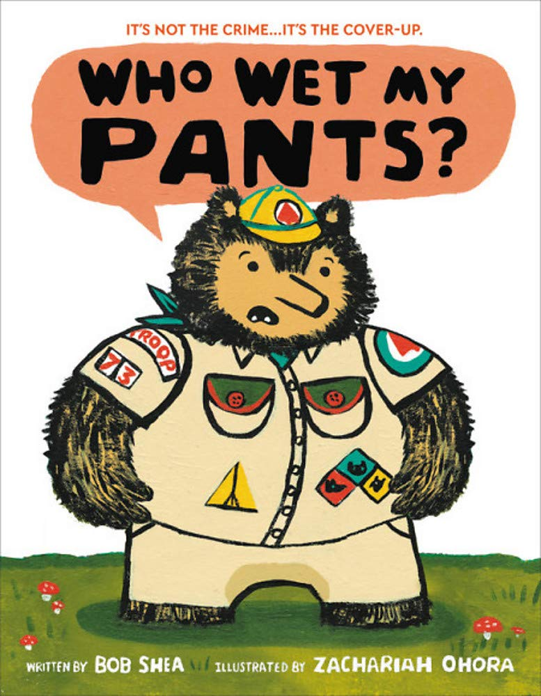 funny picture books Who Wet My Pants?