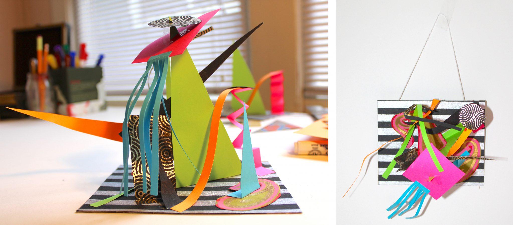LACMA @ Home - Make a Paper Sculpture