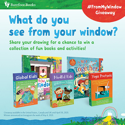 Barefoot Books #FromMyWindow Giveaway