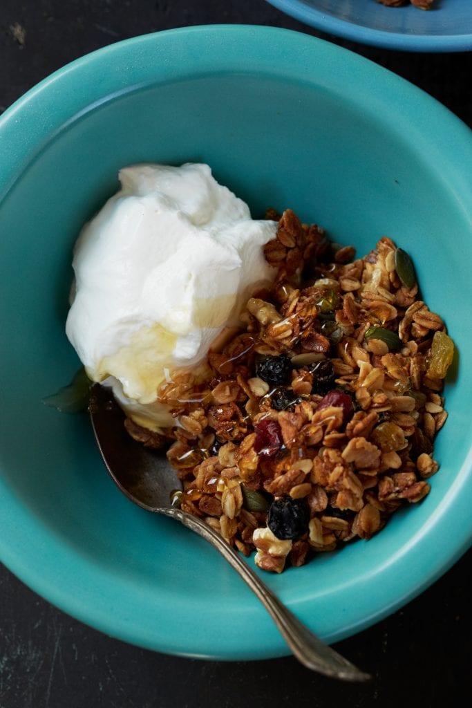 Granola recipe from Huckleberry