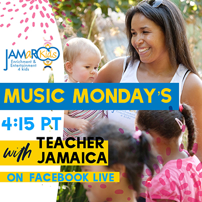 JAMaROO Kids Music Mondays