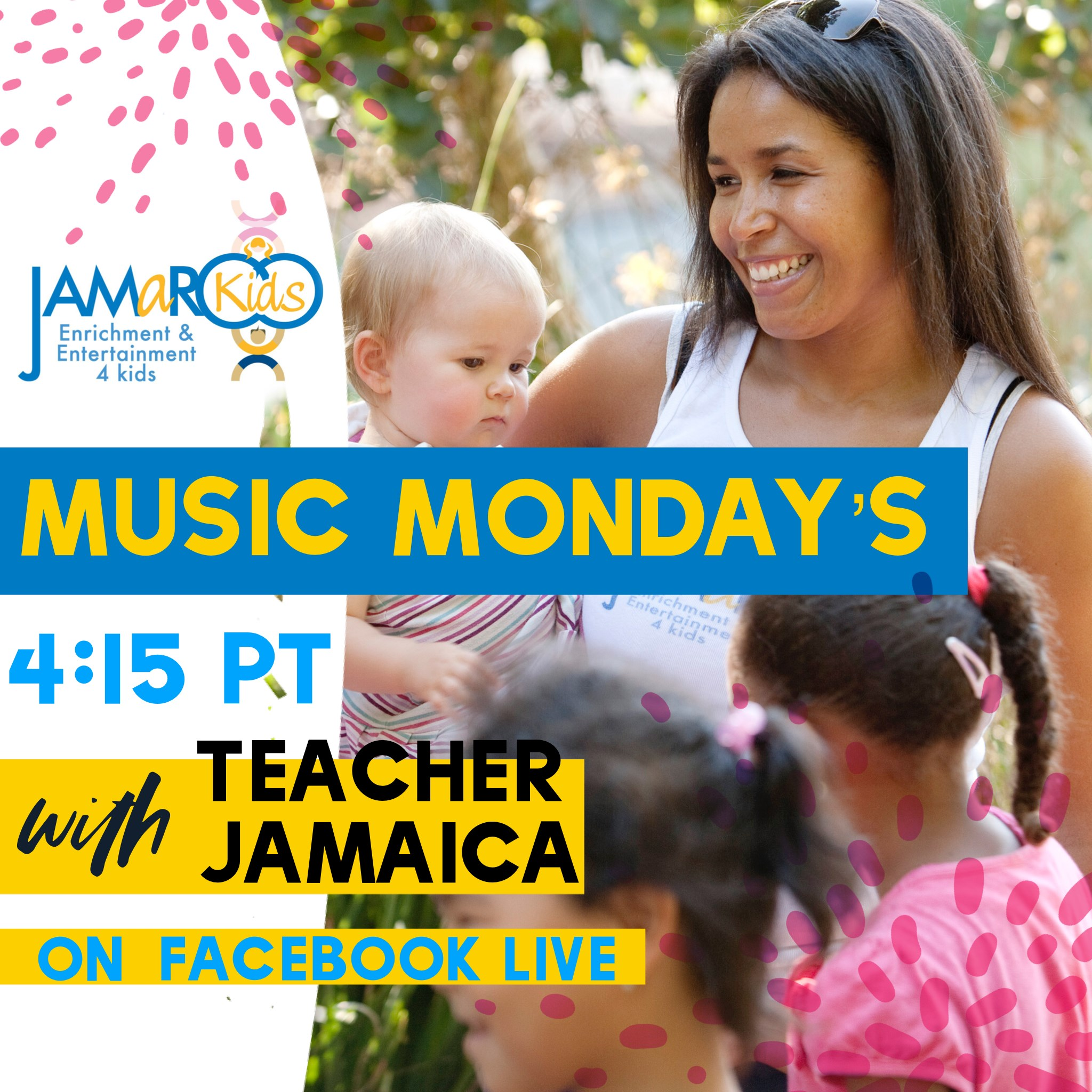 JAMaROO Kids Music Mondays