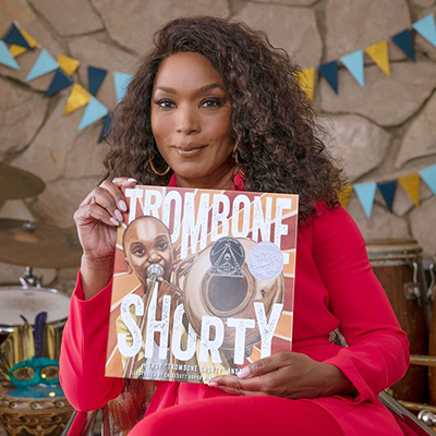 Angela Bassett Reads 'Trombone Shorty'