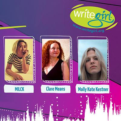 Bold Voices: A Live Music Benefit for WriteGirl