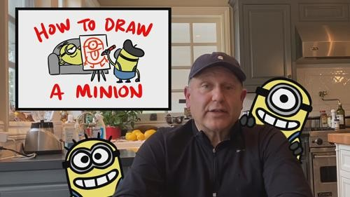 How to Draw a Minion Tutorial