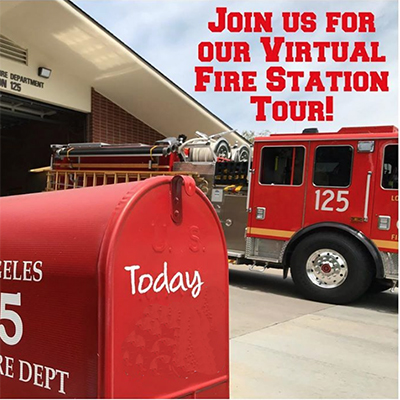 Tour L.A. County Fire Station 125 Virtually