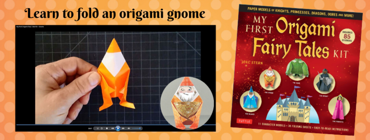 Learn to Fold an Origami Gnome