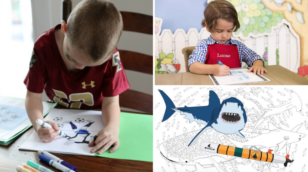 Solo play coloring pages