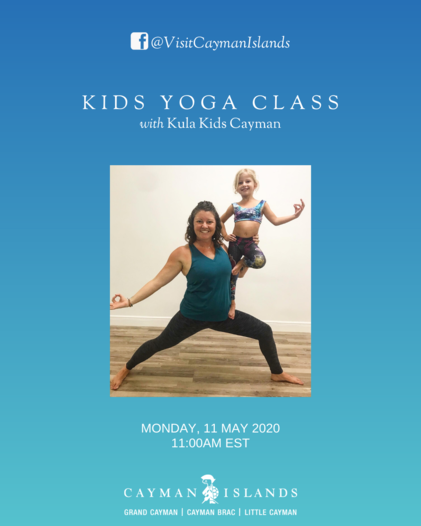 Virtual Yoga Class with Kula Kids Cayman