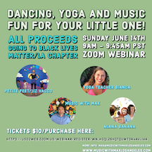 Music, Dancing, and Yoga Fun for Your Little One!