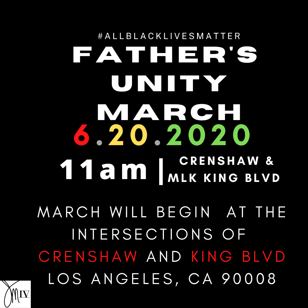 Fatherhood & Father Figures UNITY March