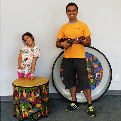 Buckets, and Drumming, and Strumming, Oh My!