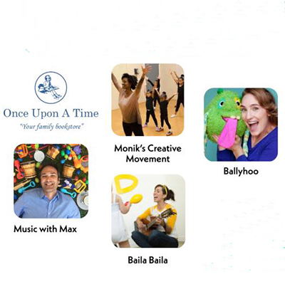 Music, Dancing, Puppet and Story Time Fun for Your Little One