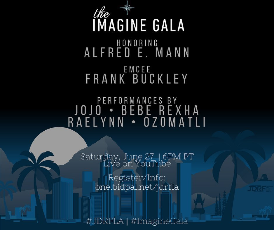 "2020 JDRF ""Reimagined"" Imagine Gala: One Hour, One Cause"