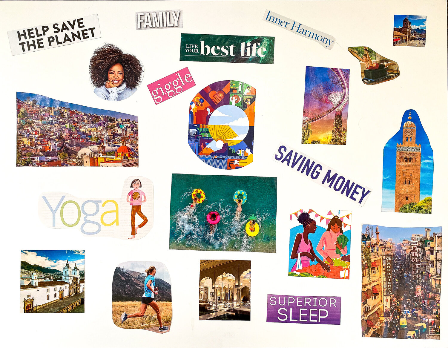Zoom Hangout - Making Dream/Vision Boards