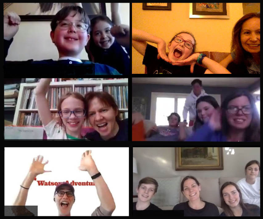 Watson Adventures' Virtual Trivia Slam Game for Families