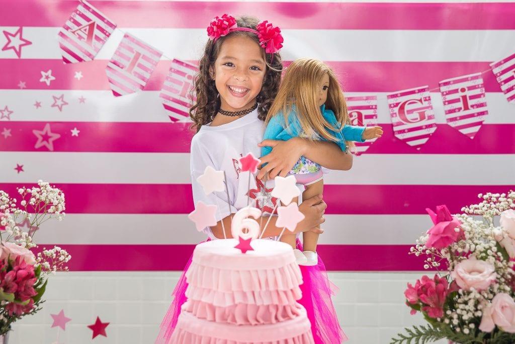 Virtual Birthday Party backdrop