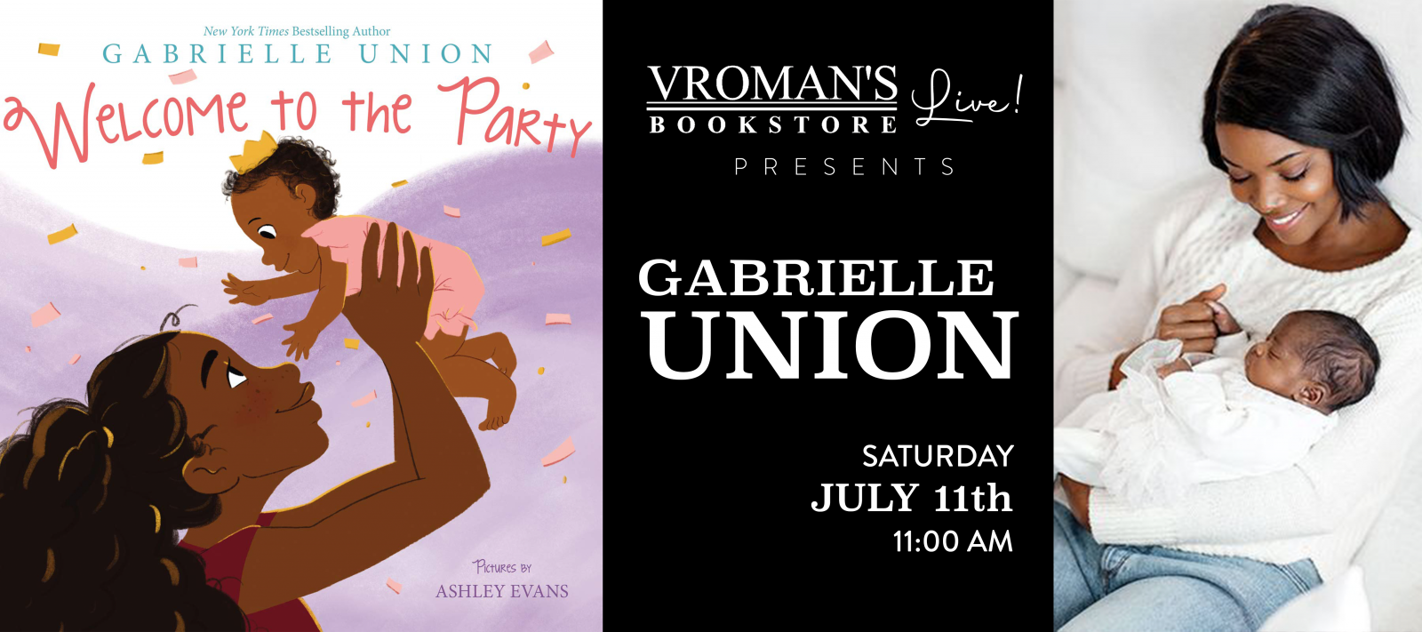 Vroman's Story Time with Gabrielle Union