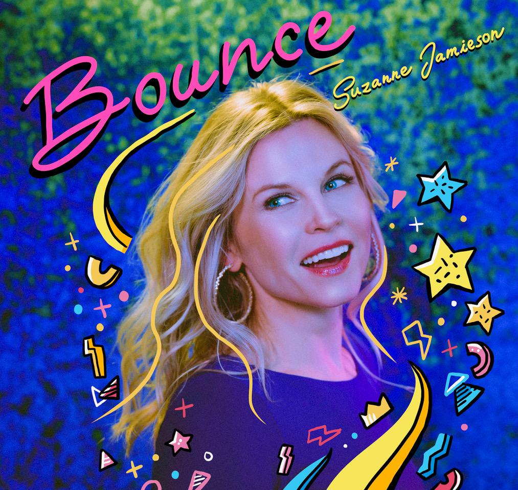 Bounce album cover, positivity
