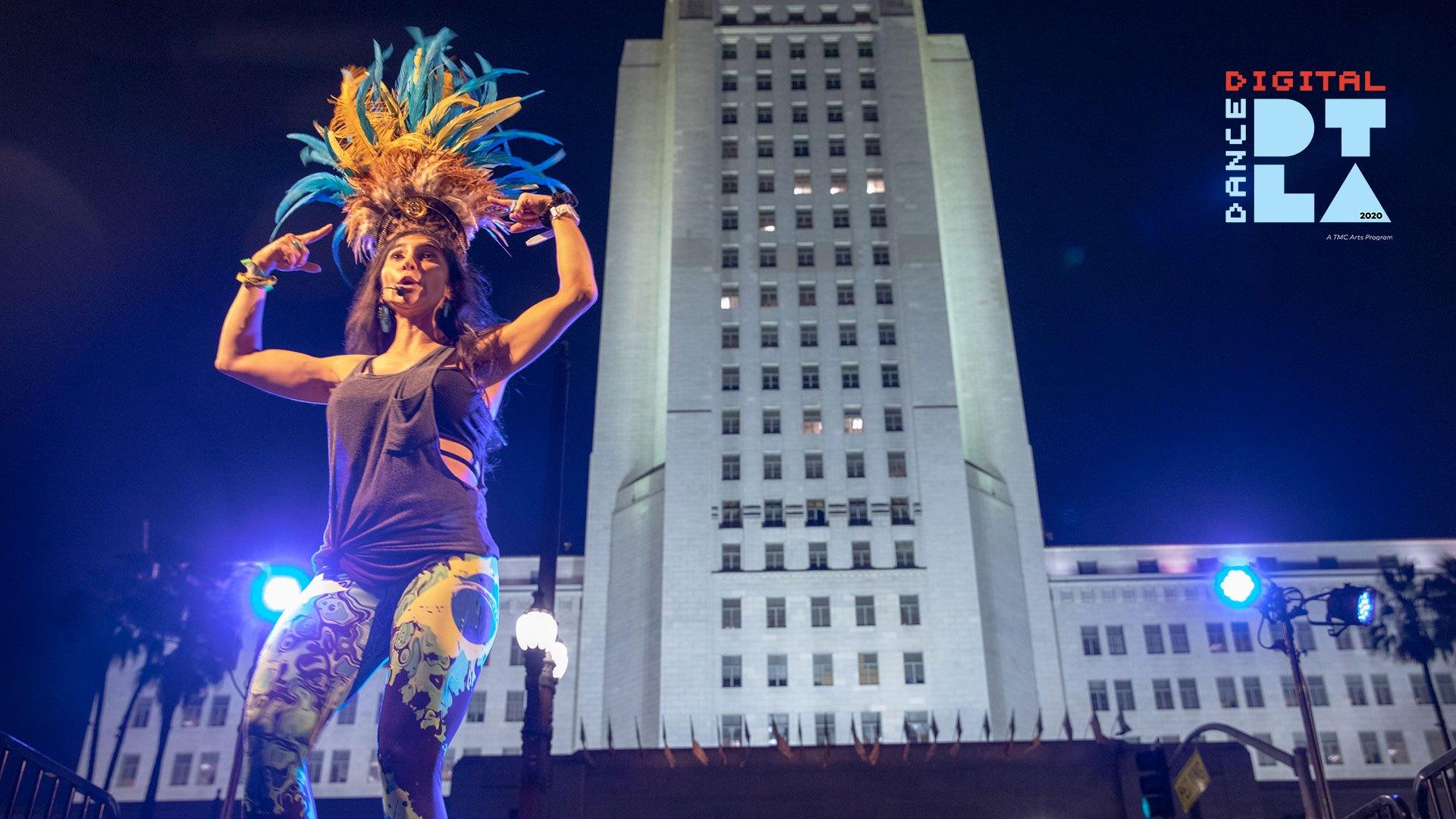 The Music Center's Digital Dance DTLA: Samba