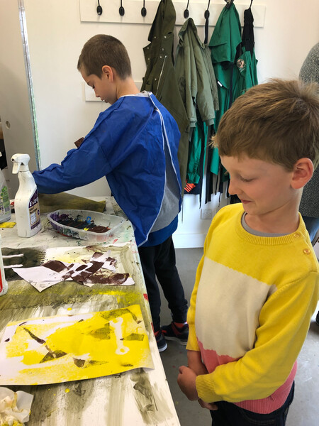 Hauser & Wirth Family Saturday - Constructing Form with Paint