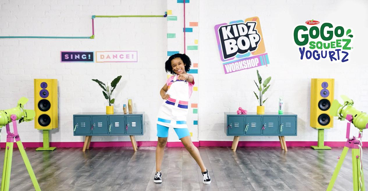 Kids Bop Virtual Dance Workshops