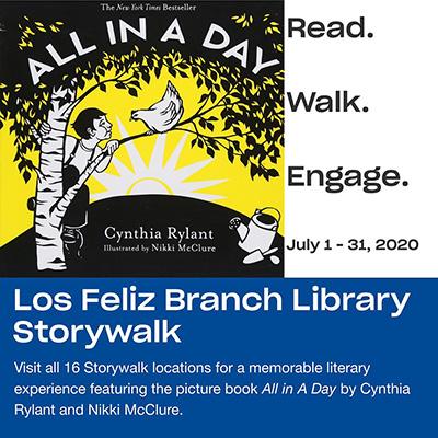 Los Feliz Branch Library Storywalk