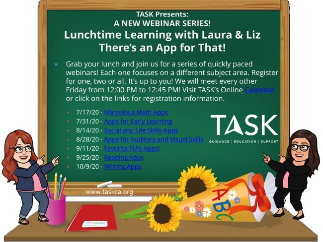 Lunchtime Learning with Laura & Liz: There's an App for That!