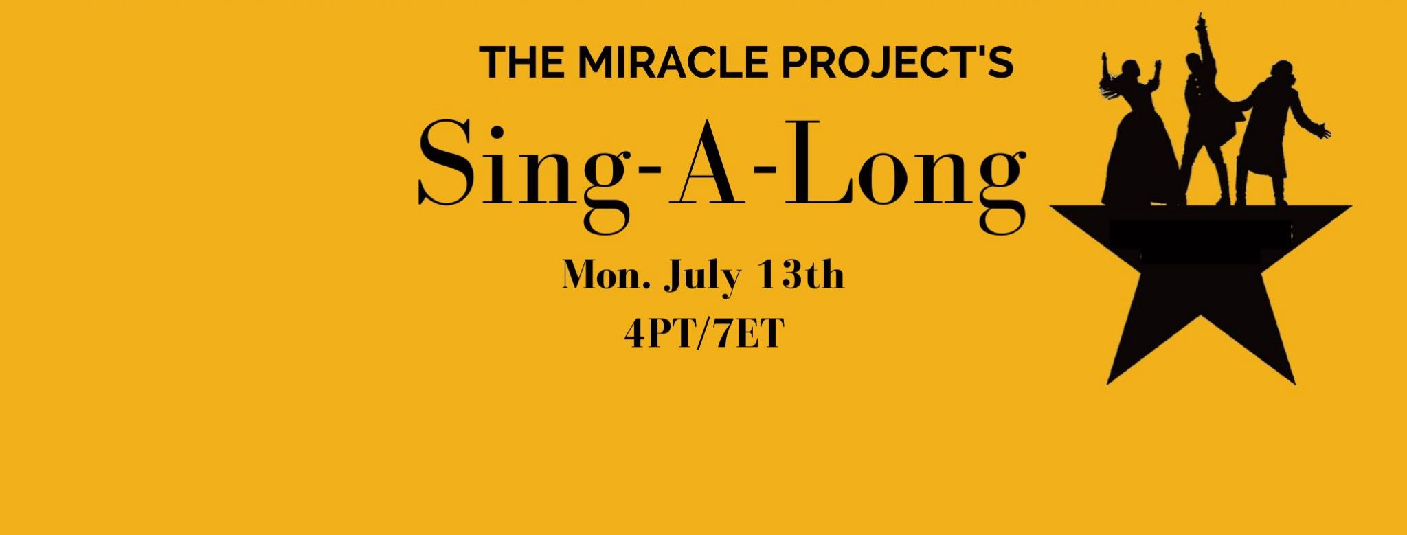 The Miracle Project Sing Along