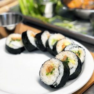 Parent and Child Sushi Class