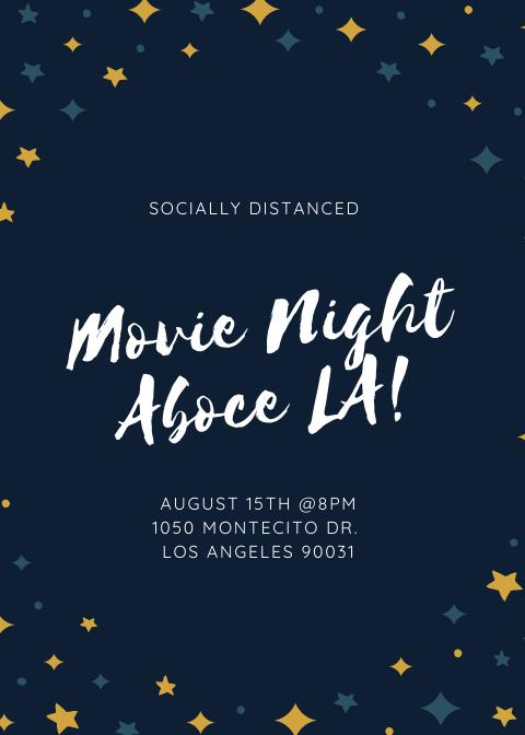Movie Night above LA!