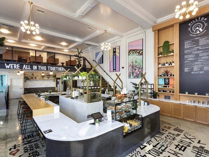 Inglewood and Windsor Hills Hilltop Cafe