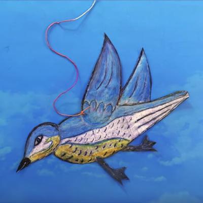 Art @ Home - Make a Paper Bird