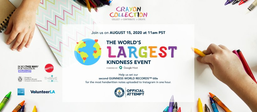 World's Largest Kindness Event