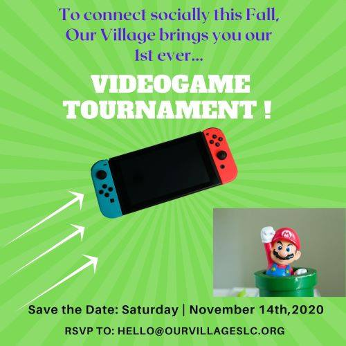 Our Village Videogame Tournament and Fun-raiser!