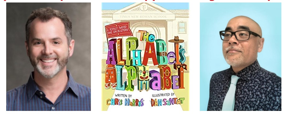 Book Event: Learn the Alphabet a Whole New Way
