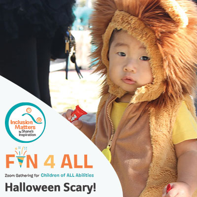 Fun4All with Inclusion Matters by Shane's Inspiration: Halloween Scary, Scary!